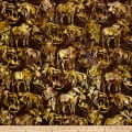 Kaufman Artisan Batiks Wildlife Sanctuary Moose Nature