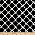 "Kaufman 108"" Wide Spot On Quilt Back Black"