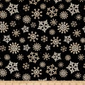 Reason For The Season Packed Snowflakes Black