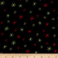 Debbie Mum Santa And Friends Snowflakes Black/Multi