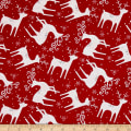 Alpine Reindeer Toss Red