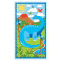 "Dandy Dinos Large 23"" Panel Multi"