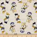 Disney Mickey Mouse & Friends Daisy & Donald Stripes Zinc