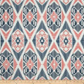 Premier Prints Munsee Twill Premier Navy/Coral