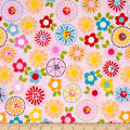 Riley Blake Fresh Market Large Floral Pink