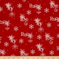 Christmas Wishes Wrapping Paper Holiday Red