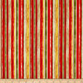 Rainforest Stripe Red