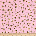 Woodland Cuties Bees Pink