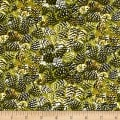 Moose Lodge Pinecones Green