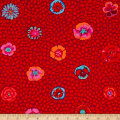 Kaffe Fassett Guinea Flower Red