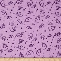 "110"" Wide Quilt Back Fiesta Purple"
