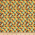 QT Fabrics Arabesque Tonal Geometric Tan