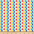 Riley Blake Crayola Triangle Multi