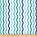Riley Blake Crayola Serpentine Blue