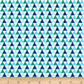 Riley Blake Crayola Triangle Blue