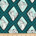 Yogi Bear Diamonds Dark Turquoise
