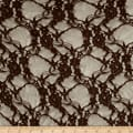 Giselle Stretch Floral Lace Brown