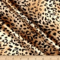 Charmeuse Satin Cheetah Small Brown/Black