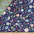 Samsara Double Sided Quilted Vine Floral Multi