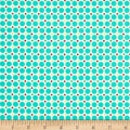 Verna Mosquera Sugar Bloom Polka Dot Party Aqua