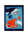 Disney Finding Dory 34 In. Panel Blue