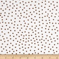 QT Fabrics It's a Pond Party Dots Brown