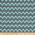 QT Fabrics Tidings Of Great Joy Block Chevron Blue