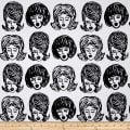 Kaufman Bouffants & Broken Hearts Girls White