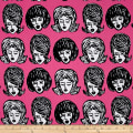 Kaufman Bouffants & Broken Hearts Girls Pink