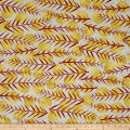 Kaufman Marks by Valori Wells Leaf Stripe Saffron