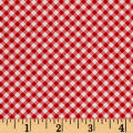 First Blush Gingham Red