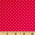 First Blush Daisy Dot Red