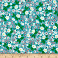 Maribel Packed Floral Turquoise