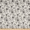 """Timeless Treasures 108"""" Wide Backing Viney Floral Cameo"""