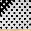 Telio Wool Polka Dot Black/White