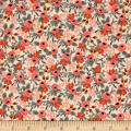 Cotton + Steel Rifle Paper Co. Les Fleurs Rosa Peach