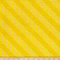 Cotton + Steel Basic Dottie Dijon Mustard