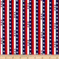 Patriotic Prints USA Stripe Blue