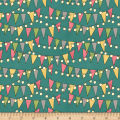 On The Road Again Bunting And Lights Teal