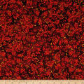 Fall Feast Berries Dark Brown