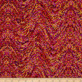 Palindromes Confetti Wave Red