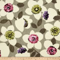 Cachet Large Floral Pink/Taupe
