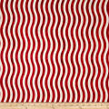 Marblehead Valor Wavy Stripe Red/White