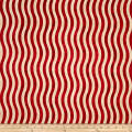 Marblehead Valor Wavy Stripe Red/Beige