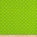 Woodland Friends Dots Green/Blue