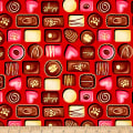 Forever Yours Metallic Set Chocolates Red