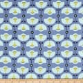 Sew It- Quilt It- Love It! Stylized Flower Blue