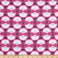 Sew It- Quilt It- Love It! Stylized Flower Pink
