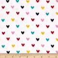 Alpine Flannel Hearts Multi