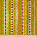 Spice Garden Repeating Stripe Cream